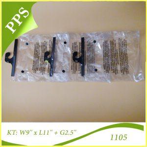 Túi hộp PVC có móc treo - 1105 (1)